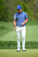 Paul Casey (GBR) looks over his putt on 11 during round 4 of the 2019 PGA Championship, Bethpage Black Golf Course, New York, New York,  USA. 5/19/2019.<br /> Picture: Golffile | Ken Murray<br /> <br /> <br /> All photo usage must carry mandatory copyright credit (© Golffile | Ken Murray)