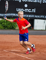 08-08-13, Netherlands, Rotterdam,  TV Victoria, Tennis, NJK 2013, National Junior Tennis Championships 2013,  Daan Hendriks/<br /> <br /> <br /> Photo: Henk Koster