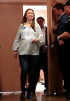 NORTH BERGEN, NEW JERSEY JUNE 6: Chelsea Clinton attends a event with Senator Robert Menendez and Senator Cory Booker before Tuesday primaries elections on June 6, 2016 in North Bergen, New Jersey. Democratic front-runner Hillary Clinton could have the number of delegates needed to secure the nomination after results in New Jersey (Photo by VIEWpress)