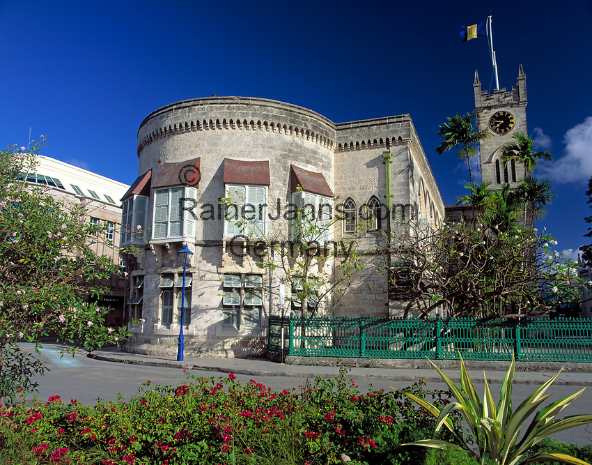 BRB, Barbados, Bridgetown: House of Assembly | BRB, Barbados, Bridgetown: House of Assembly