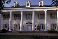 AJ3891, Baton Rouge, mansion, Louisiana, The Governor's Mansion in the capital city of Baton Rouge in the state of Louisiana.