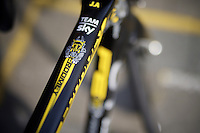 'Rhino' Froomey Tour bike detail<br /> <br /> Post-Tour Criterium Mechelen 2015