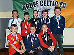 Ardee Celtic Under-12 players pictured at the club awards held in Ardee Parish Centre. Photo:Colin Bell/pressphotos.ie