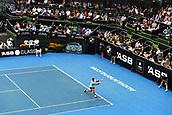 10th January 2018, ASB Tennis Centre, Auckland, New Zealand; ASB Classic, ATP Mens Tennis;  Juan Martin Del Potro (ARG) during the ASB Classic ATP Men's Tournament Day 3