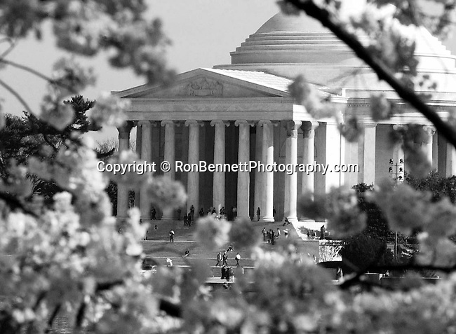 The Thomas Jefferson Memorial Washington DC, The Thomas Jefferson Memorial, Jefferson memorial, Presidential Memorial in Washington DC, Thomas Jefferson, American founding Father, Third President of the United States, neoclassical, Designed by John Russell Pope, Philadelphia, done, portico, Tidal, Basin, Potomac River, West Potomac Park, Washington monument, National Mall and Memorial Parks, List of America's Favorite Architecture, American Institute of Architects, U.S. National Register of Historic Places, U.S. National Memorial, Washington D.C., Ron Bennett Photography, Stock Photography, Fine Art Photography, Art Photography, Copyright RonBennettPhotography.com ©