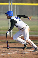 April 5, 2009:  Outfielder Chris Ciesla (35) of the University of Buffalo Bulls during a game at Amherst Audubon Field in Buffalo, NY.  Photo by:  Mike Janes/Four Seam Images