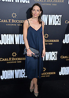 Claire Forlani at the premiere of &quot;John Wick Chapter Two&quot; at the Arclight Theatre, Hollywood. <br /> Los Angeles, USA 30th January  2017<br /> Picture: Paul Smith/Featureflash/SilverHub 0208 004 5359 sales@silverhubmedia.com