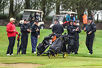 Wellington team celebrates drawing the  match with Canterbury, Toro New Zealand Mens Interprovincial Tournament, Clearwater Golf Club, Christchurch, New Zealand, 26th November 2018. Photo:John Davidson/www.bwmedia.co.nz