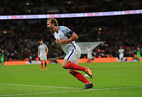 England Harry Kane  celebrates scoring his only goal for England  during the FIFA World Cup 2018 Qualifying Group F match between England and Slovenia at Wembley Stadium on October 5th 2017 in London, England. <br /> Calcio Inghilterra - Slovenia Qualificazioni Mondiali <br /> Foto Phcimages/Panoramic/insidefoto