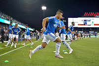 San Jose, CA - Wednesday September 19, 2018: Nick Lima prior to a Major League Soccer (MLS) match between the San Jose Earthquakes and Atlanta United FC at Avaya Stadium.
