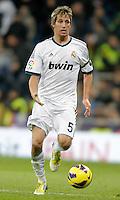 Real Madrid's Fabio Coentrao during La Liga Match. December 01, 2012. (ALTERPHOTOS/Alvaro Hernandez)