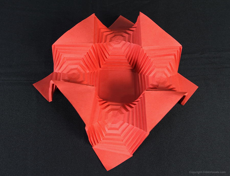 Five Intersecting Tetrahedra Origami (Thomas Hull) - YouTube | 689x900