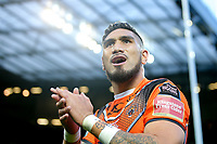 Picture by Alex Whitehead/SWpix.com - 07/10/2017 - Rugby League - Betfred Super League Grand Final - Castleford Tigers v Leeds Rhinos - Old Trafford, Manchester, England - Castleford's Jesse Sene Lefao
