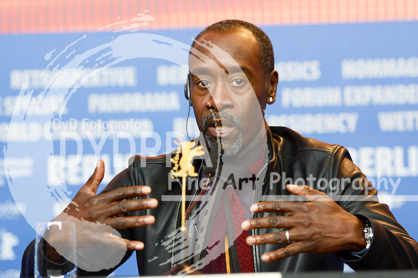 Don Cheadle during the 'Miles Ahead' press conference at the 66th Berlin International Film Festival / Berlinale 2016 on February 18, 2016 in Berlin, Germany.