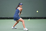 April 25, 2014; San Diego, CA, USA; Pepperdine Waves player Lorraine Guillermo during the WCC Tennis Championships at Barnes Tennis Center.