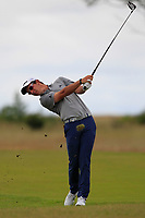 Lucas Herbert (AUS) on the 1st during Round 2 of the Aberdeen Standard Investments Scottish Open 2019 at The Renaissance Club, North Berwick, Scotland on Friday 12th July 2019.<br /> Picture:  Thos Caffrey / Golffile<br /> <br /> All photos usage must carry mandatory copyright credit (© Golffile | Thos Caffrey)