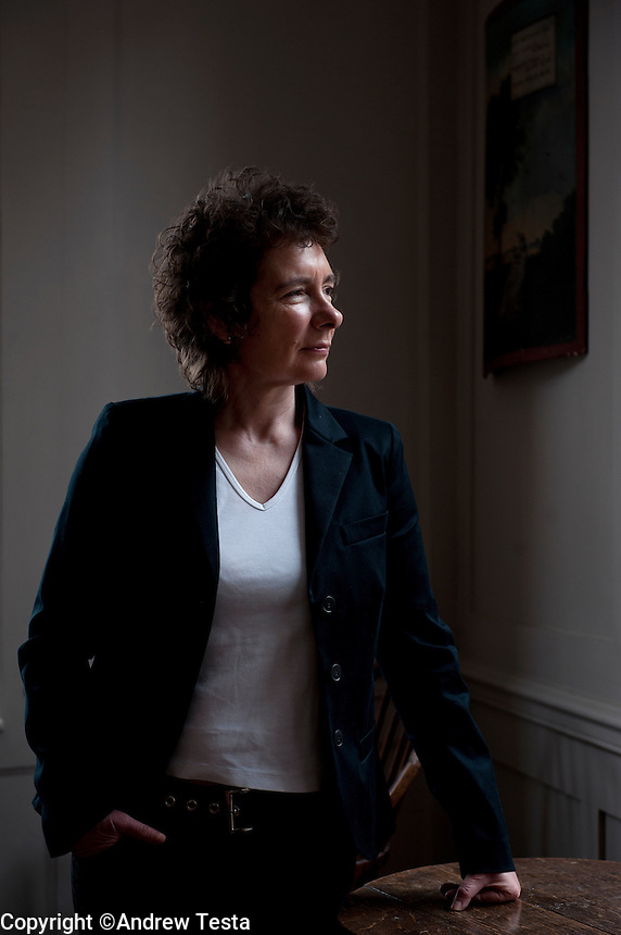 UK. London. 06th March  2012.Jeanette Winterson at her home in London..©Andrew Testa for the New York Times