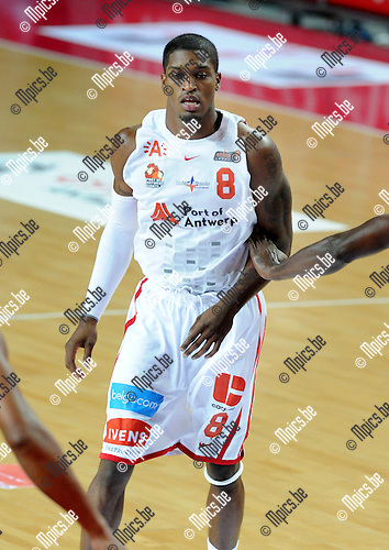 2012-10-07 / Basketbal / seizoen 2012-2013 / Antwerp Giants / Gregg Thondique..Foto: Mpics.be