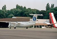 Juli 1994. Luchthaven van Deurne. Vliegtuig van Sabena.