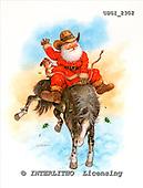 GIORDANO, CHRISTMAS SANTA, SNOWMAN, WEIHNACHTSMÄNNER, SCHNEEMÄNNER, PAPÁ NOEL, MUÑECOS DE NIEVE, paintings+++++,USGI2302,#X#