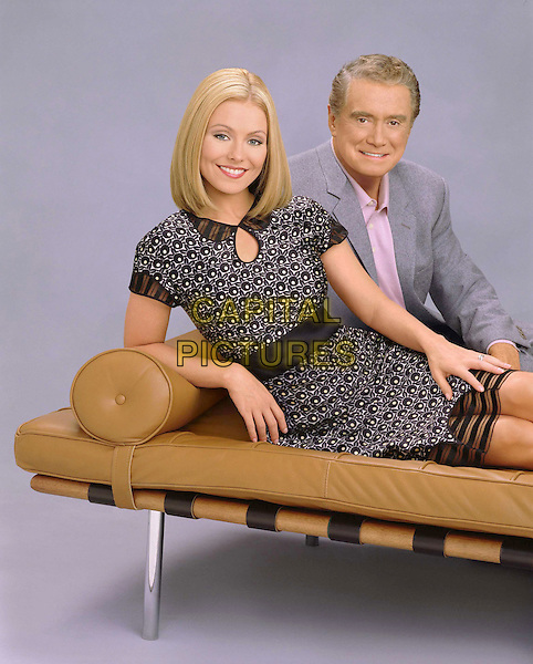 KELLY RIPA & REGIS PHILBIN .in Regis And Kelly In Primetime.Filmstill - Editorial Use Only.Ref: FB.sales@capitalpictures.com.www.capitalpictures.com.Supplied by Capital Pictures.
