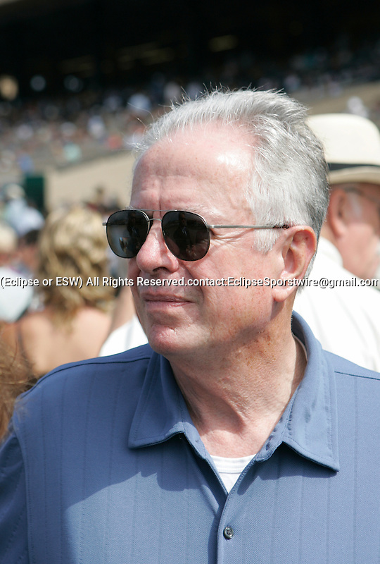 25 July 2009: Del Mar Senior Media Coordinator Dan Smith at Del Mar Race Track, Del Mar, CA