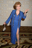 """28 December 2016 - Debbie Reynolds, the Oscar-nominated """"Singin' in the Rain,""""  singer-actress who was the mother of late actress Carrie Fisher, has died. She was 84. """"She wanted to be with Carrie,"""" her son Todd Fisher told Variety. She was taken to the hospital from Todd Fisher's Beverly Hills house Wednesday after a suspected stroke, the day after her daughter Carrie Fisher died. File Photo: 07 October 2006 - Century City, California. Debbie Reynolds. The 51st Annual Thalians Ball at the Hyatt Regency Century Plaza Hotel. Photo Credit: Byron Purvis/AdMedia"""