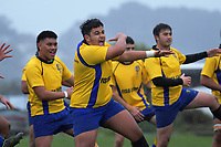 Action from the Wellington 1st XV premier rugby match between Rongotai College and St Patrick's College Silverstream at Rongotai College in Wellington, New Zealand on Wednesday, 31 July 2019. Photo: Dave Lintott / lintottphoto.co.nz
