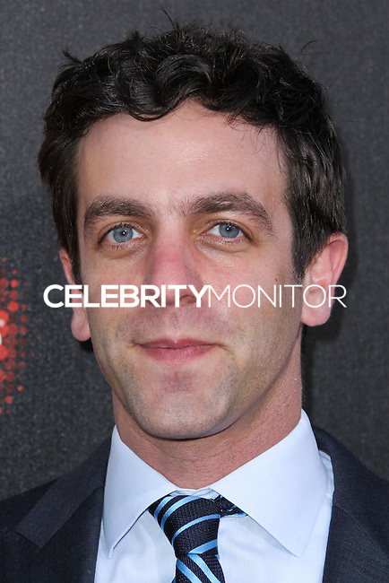 HOLLYWOOD, LOS ANGELES, CA, USA - MARCH 20: B.J. Novak at the 2nd Annual Rebels With A Cause Gala Honoring Larry Ellison held at Paramount Studios on March 20, 2014 in Hollywood, Los Angeles, California, United States. (Photo by Xavier Collin/Celebrity Monitor)