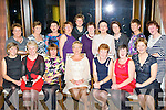 Kathleen Cronin, Kilbrean, Spa who celebrated her retirement from St Finians hospital, Killarney with her colleagues in the Brehon Hotel on Saturday night..