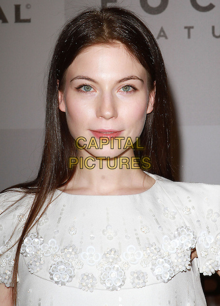 LAUREN MILLER .NBC Universal 68th Annual Golden Globe Awards After Party held at the Beverly Hilton, Beverly Hills, California, USA..January 16th, 2011.headshot portrait white lace .CAP/ADM/KB.©Kevan Brooks/AdMedia/Capital Pictures.