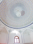 Inner cupola at Hazrat Hizr mosque, Samarkand.