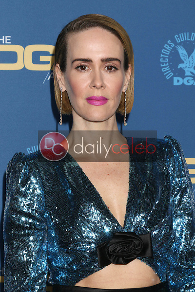 Sarah Paulson<br /> at the 71st Annual Directors Guild Of America Awards, Ray Dolby Ballroom, Hollywood, CA 02-02-19<br /> David Edwards/DailyCeleb.com 818-249-4998
