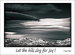 inspirational black and white image of the desrt hills near Laughin, Nevada