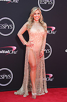 LOS ANGELES, CA - JULY 12: Chelsea Lynn Pezzola at The 25th ESPYS at the Microsoft Theatre in Los Angeles, California on July 12, 2017. Credit: Faye Sadou/MediaPunch