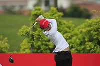 Carlota Ciganda (ESP) in action on the 6th during Round 2 of the HSBC Womens Champions 2018 at Sentosa Golf Club on the Friday 2nd March 2018.<br /> Picture:  Thos Caffrey / www.golffile.ie<br /> <br /> All photo usage must carry mandatory copyright credit (&copy; Golffile | Thos Caffrey)