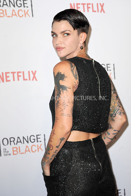 WWW.ACEPIXS.COM<br /> June 11, 2015 New York City<br /> <br /> Ruby Rose attending the 'Orangecon' Fan Event at Skylight Clarkson SQ on June 11, 2015 in New York City.<br /> <br /> Credit : Kristin Callahan/ACE Pictures<br /> Tel: (646) 769 0430<br /> e-mail: info@acepixs.com<br /> web: http://www.acepixs.com