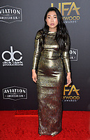 LOS ANGELES, CA. November 04, 2018: Awkwafina at the 22nd Annual Hollywood Film Awards at the Beverly Hilton Hotel.<br /> Picture: Paul Smith/FeatureflashLOS ANGELES, CA. November 04, 2018: Wendy Starland at the 22nd Annual Hollywood Film Awards at the Beverly Hilton Hotel.<br /> Picture: Paul Smith/FeatureflashLOS ANGELES, CA. November 04, 2018: Rachel Chu at the 22nd Annual Hollywood Film Awards at the Beverly Hilton Hotel.<br /> Picture: Paul Smith/Featureflash