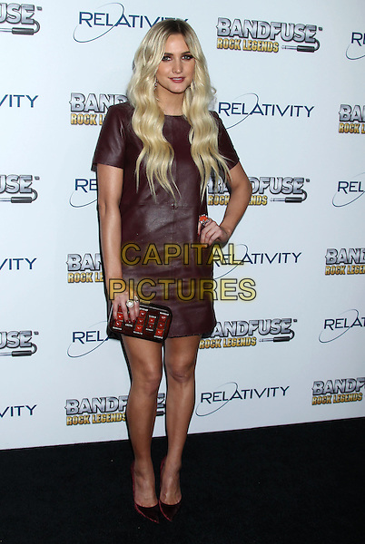 WEST HOLLYWOOD, CA., - NOVEMBER 12: Ashlee Simpson at &quot;BandFuse: Rock Legends&quot; Music Video Game Launch Party held at The House of Blues on November 12th, 2013 in West Hollywood, California, USA.<br /> CAP/ADM/RE<br /> &copy;Russ Elliot/AdMedia/Capital Pictures