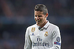 James Rodriguez of Real Madrid  during the match Real Madrid vs Napoli, part of the 2016-17 UEFA Champions League Round of 16 at the Santiago Bernabeu Stadium on 15 February 2017 in Madrid, Spain. Photo by Diego Gonzalez Souto / Power Sport Images