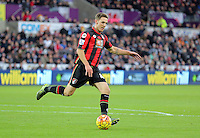 Dan Gosling of Bournemouth  during the Barclays Premier League match between Swansea City and Bournemouth at the Liberty Stadium, Swansea on November 21 2015