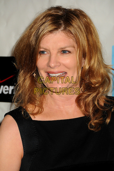 RENE RUSSO .Attending the 38th Annual Peace Over Violence Humanitarian Awards held at The Beverly Hills Hotel, Beverly Hills, California, USA, 6th November 2009..portrait headshot black sleeveless smiling .CAP/ADM/BP.©Byron Purvis/AdMedia/Capital Pictures.