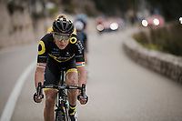 Niki Terpstra (NED/Direct Energie)<br /> <br /> Stage 8: Nice to Nice (110km)<br /> 77th Paris - Nice 2019 (2.UWT)<br /> <br /> ©kramon
