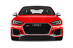 Car photography straight front view of a 2019 Audi RS5 4WD 2 Door Coupe