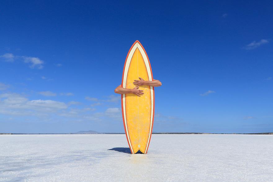 Surfboard hug Australia