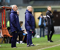 South Shield's joint manager Lee Picton, left and South Shield's joint manager Graham Fenton<br /> <br /> Photographer Chris Vaughan/CameraSport<br /> <br /> The FA Youth Cup Second Round - Lincoln City U18 v South Shields U18 - Tuesday 13th November 2018 - Sincil Bank - Lincoln<br />  <br /> World Copyright © 2018 CameraSport. All rights reserved. 43 Linden Ave. Countesthorpe. Leicester. England. LE8 5PG - Tel: +44 (0) 116 277 4147 - admin@camerasport.com - www.camerasport.com