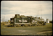 #490 K-37 - Antonito - coaling trestle in background to right.<br /> D&amp;RGW  Antonito, CO