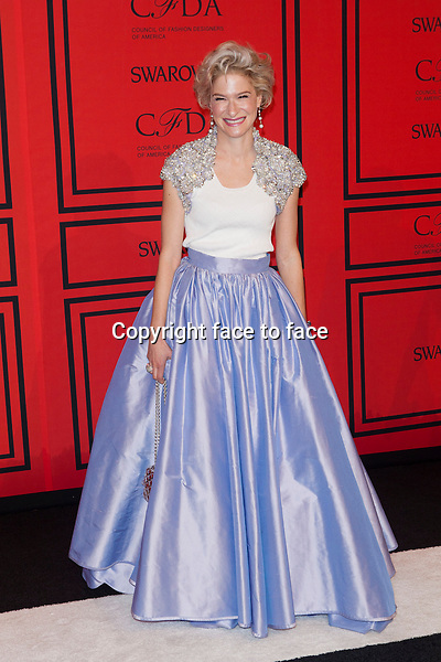 NEW YORK, NY - JUNE 3: Julie Macklowe at the 2013 CFDA Fashion Awards at Lincoln Center's Alice Tully Hall in New York City. June 3, 2013. <br />