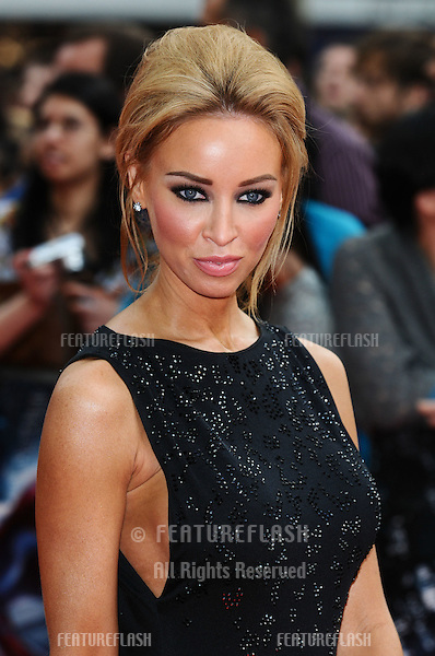 "Lauren Pope arriving for the premiere of ""The Amazing Spider-Man"" at the Odeon Leicester Square, London. 18/06/2012 Picture by: Steve Vas / Featureflash"
