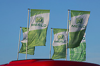 Merlo flags at show<br /> &copy;Tim Scrivener Photographer 07850 303986<br /> ....Covering Agriculture In The UK....